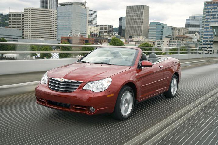 2010 Chrysler Sebring Banner