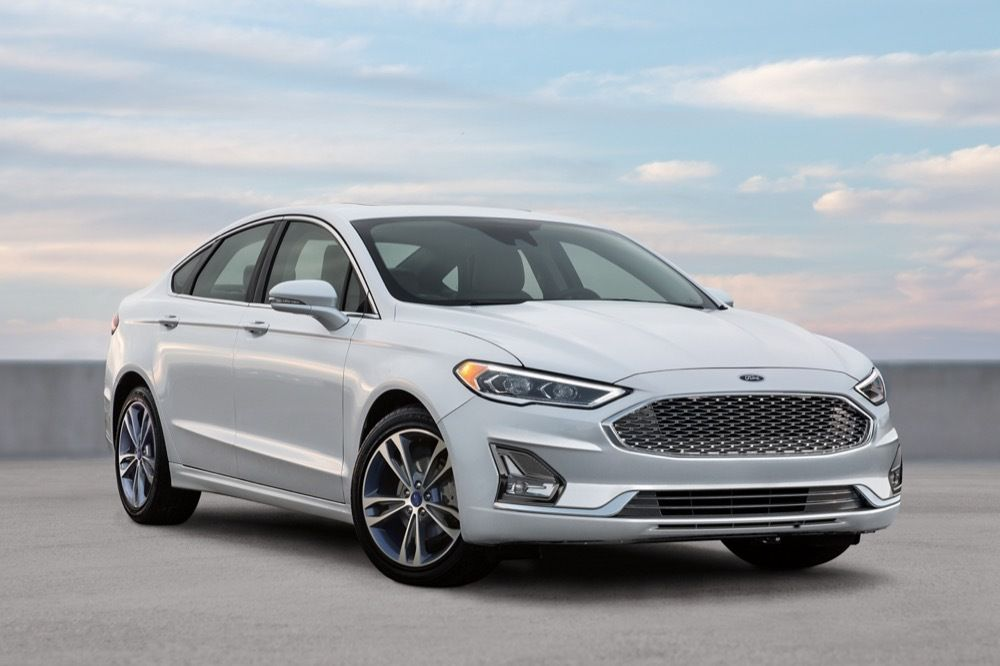 2020 Ford Fusion Banner