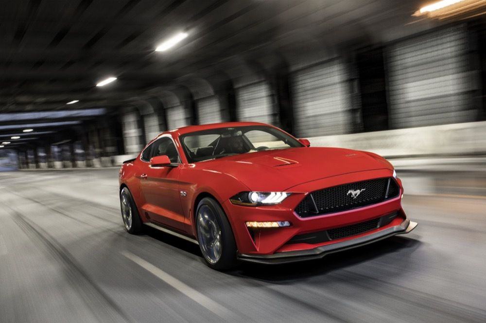 2021 Ford Mustang Banner