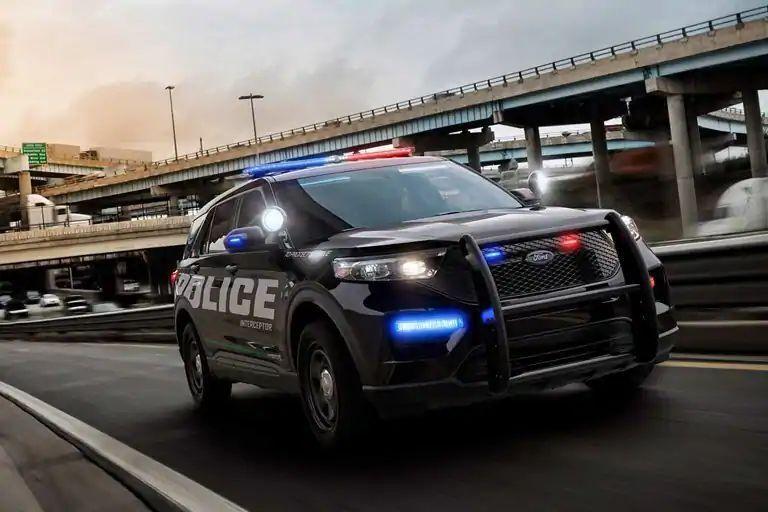 2020 Ford Police Interceptor Utility Banner