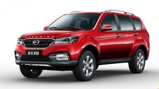 Jiangling Motors Corporation Group X8