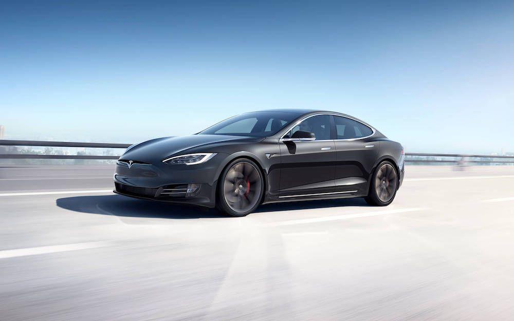 2021 Tesla Model S Banner
