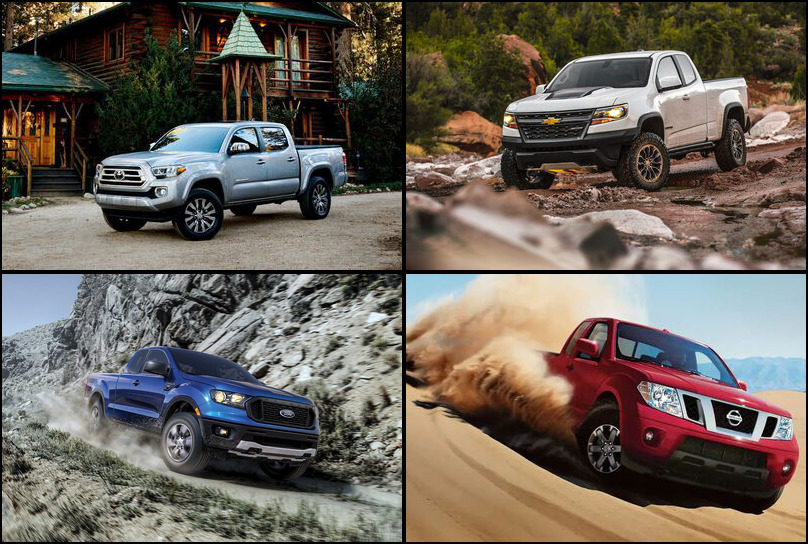2019 2019 Best Selling Compact Pickup Trucks Market Share Graph
