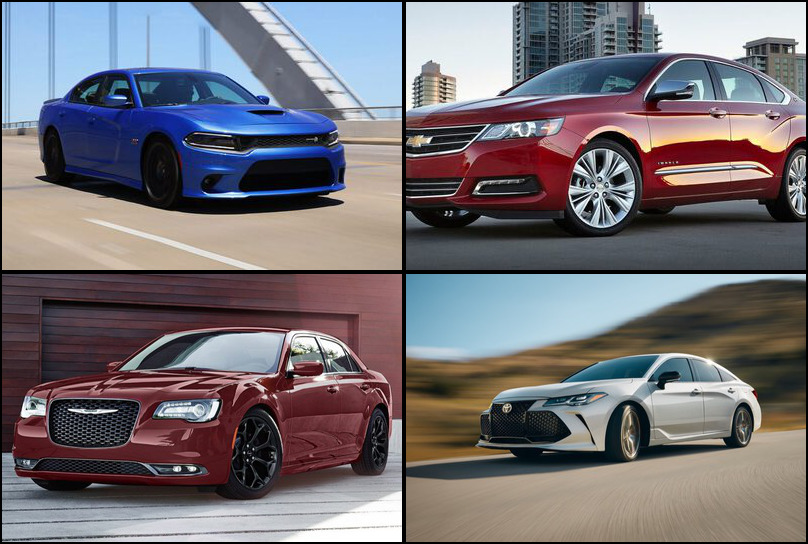 2019 2019 Best Selling Large Cars Market Share Graph