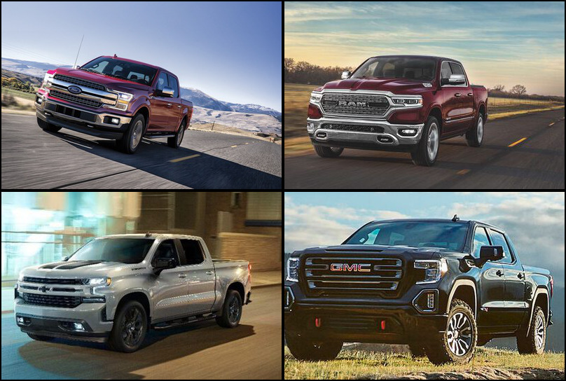 2019 2019 Best Selling Large Pickup Trucks Market Share Graph