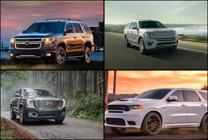 2019 2019 Best Selling Large SUVs Market Share Graph