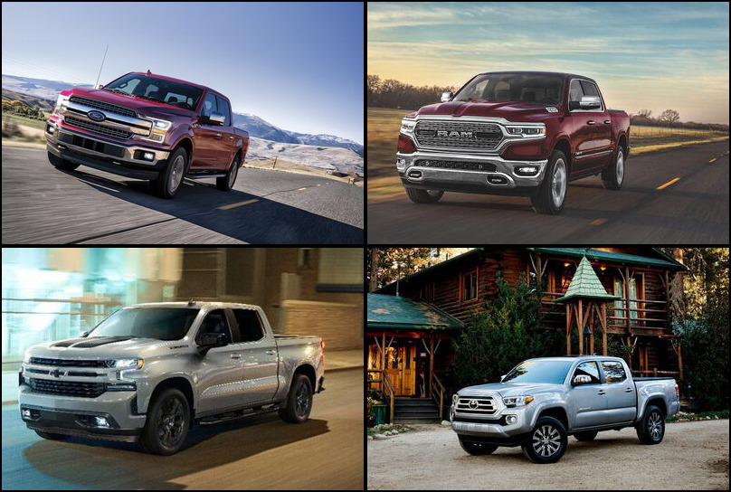 2019 2019 Best Selling Pickup Trucks Market Share Graph