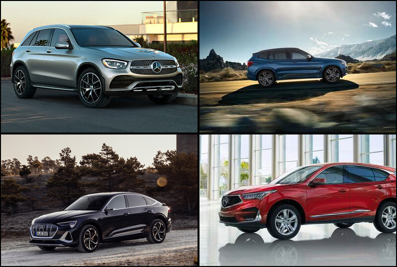 2019 2019 Best Selling Premium Compact Crossover/SUVs Market Share Graph