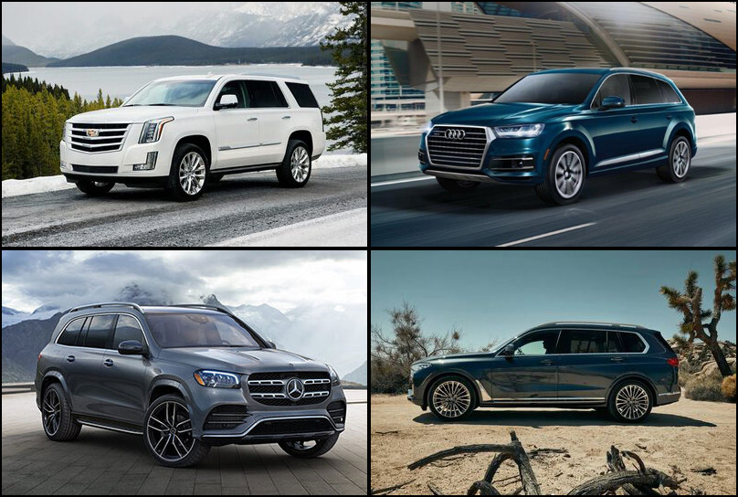 2019 2019 Best Selling Premium Large SUVs Market Share Graph
