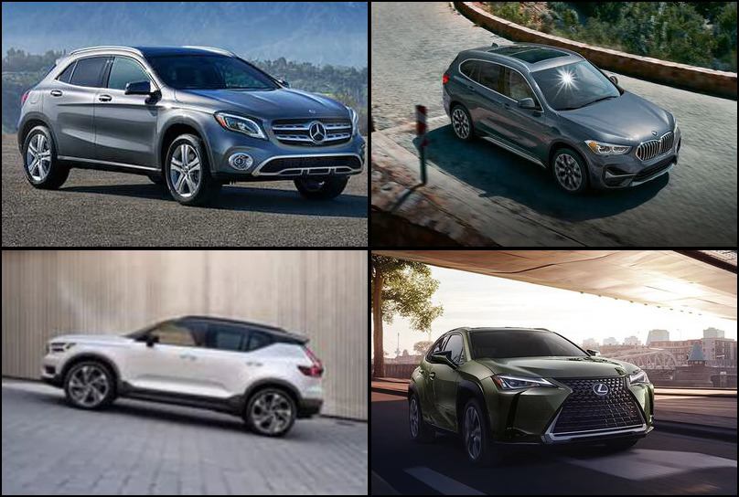 2019 2019 Best Selling Premium Subcompact Crossover/SUVs Market Share Graph