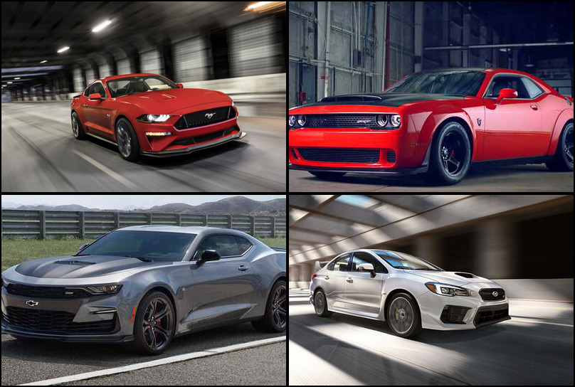 2019 2019 Best Selling Sport/Performance Cars Market Share Graph
