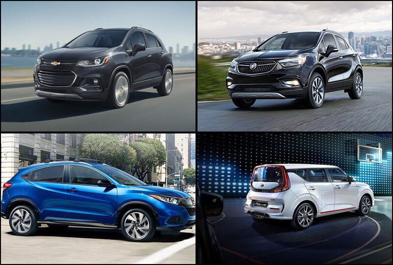 2019 2019 Best Selling Subcompact Crossover/SUVs Market Share Graph